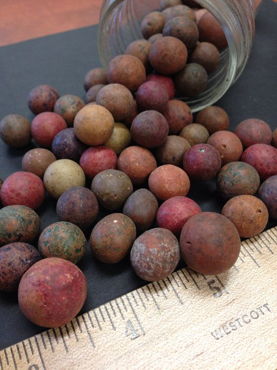 Image result for clay marbles
