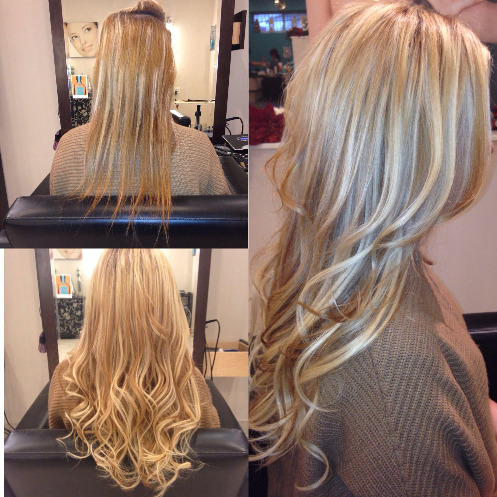 Gotta luv blonde hair extensions | Hair extensions | Pinterest ...