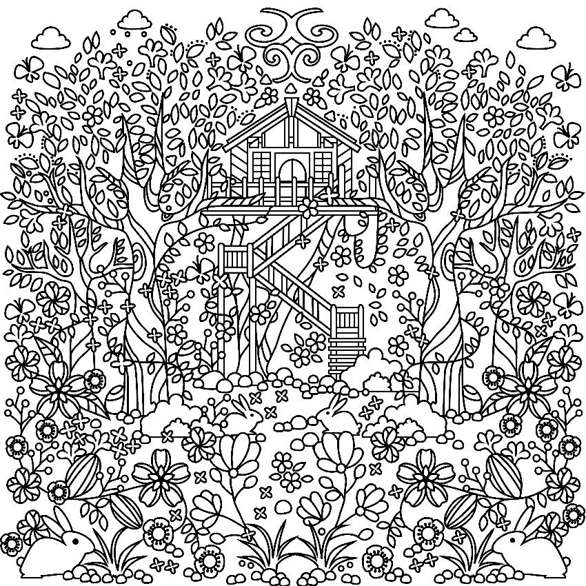 Pin On Garden Coloring Pages
