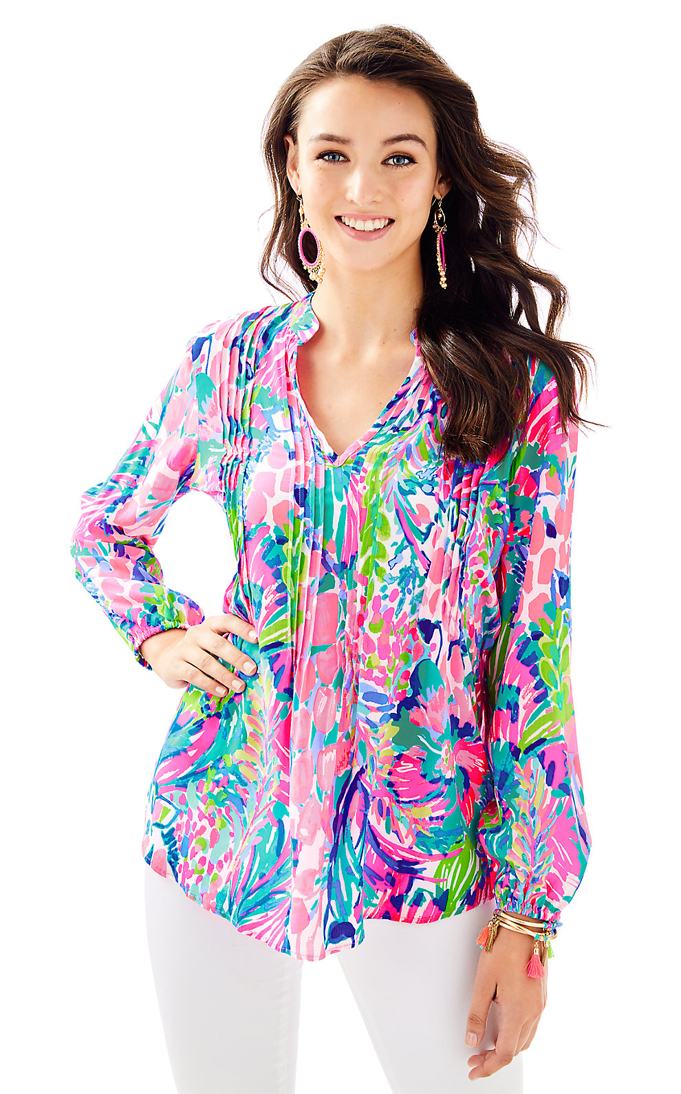 4ef15e9181e Lilly Pulitzer Womens Sarasota Tunic Top   Products in 2019   Tunic ...