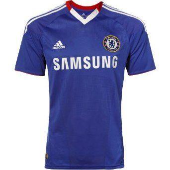 c2339e3b2 Chelsea 10 11 Home Soccer Jersey