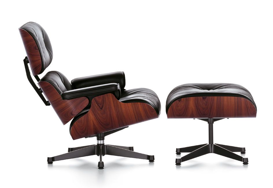Charles And Ray Eames Lounge Chair Ottoman By Vitra