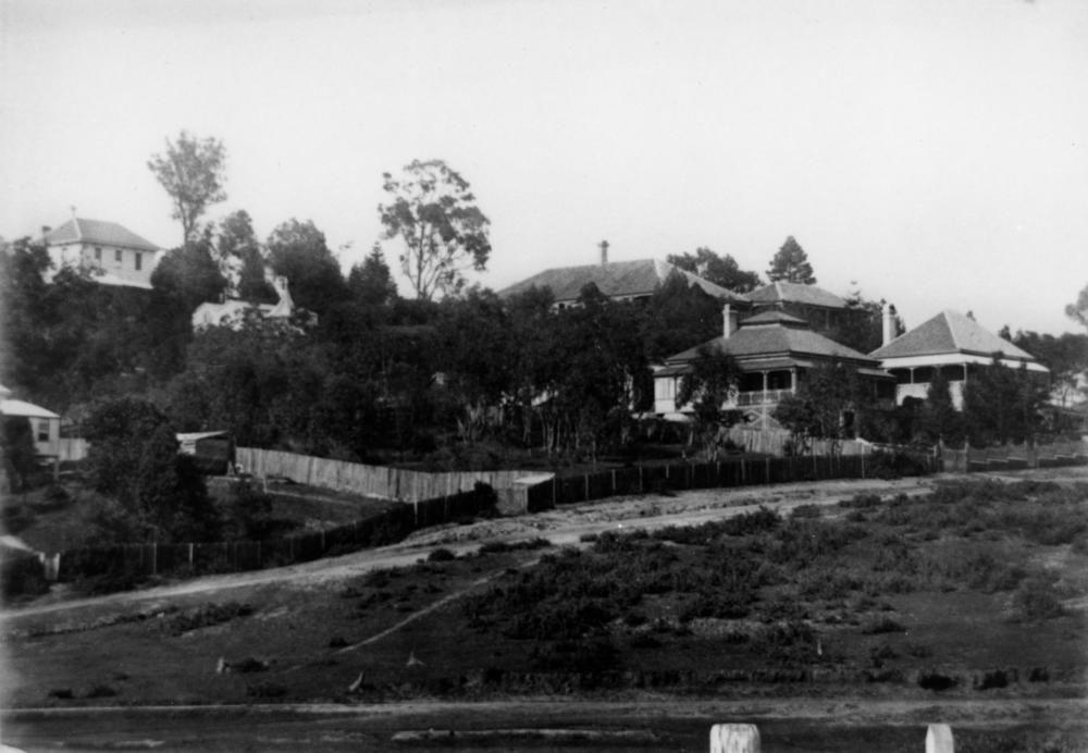Scene from Breakfast Creek Road of Bowen Hills, Brisbane ...