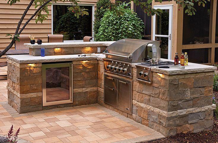 Cheaply Build Outdoor Kitchen Pin - Decoratorist - #174856