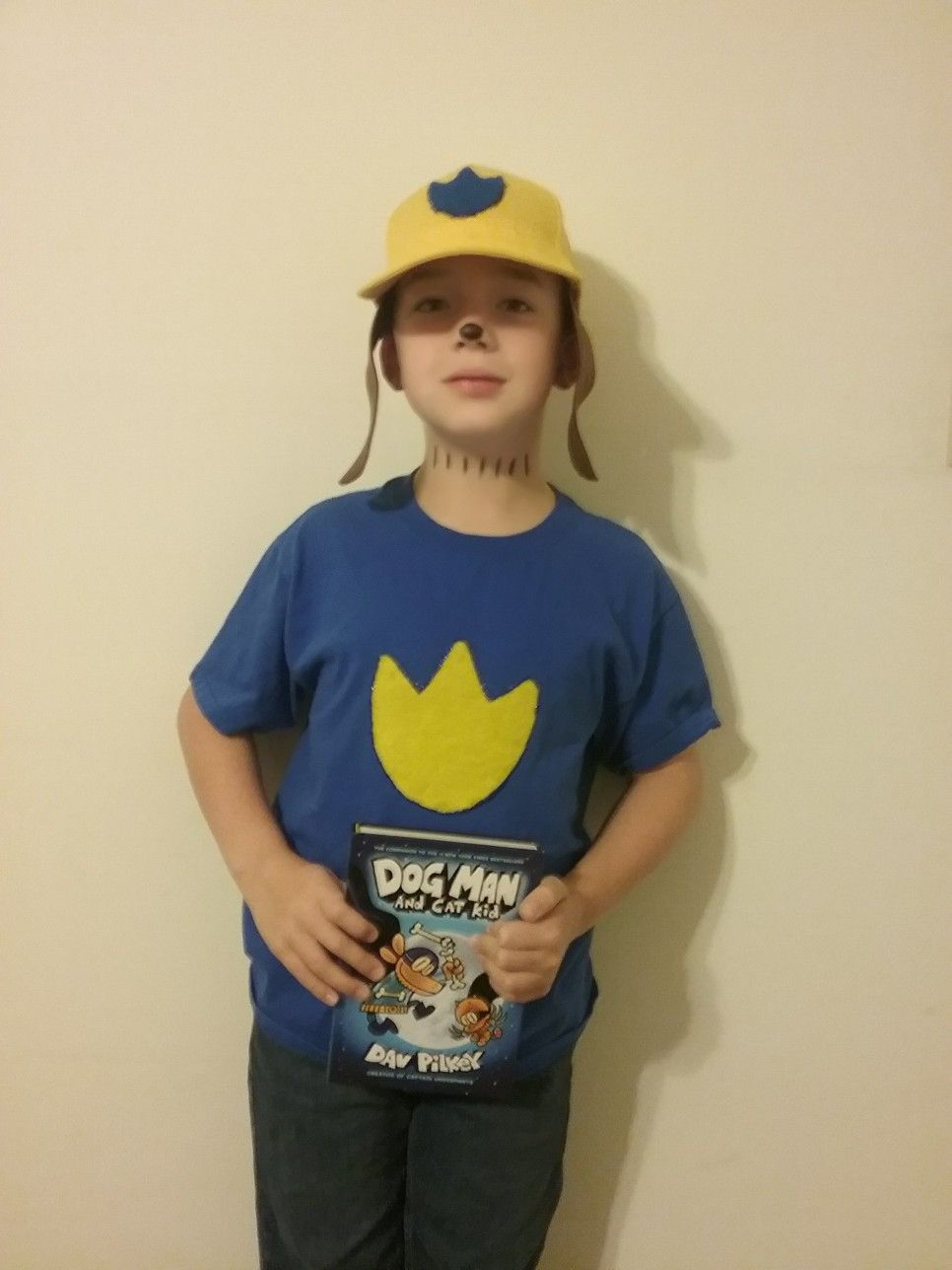 Diy Dog Man Costume: Book Character Costumes, Book