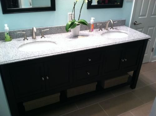 Home decorators collection gazette 72 in double basin vanity in white with granite vanity top in rushmore grey gawat7222d at the home depot mobile