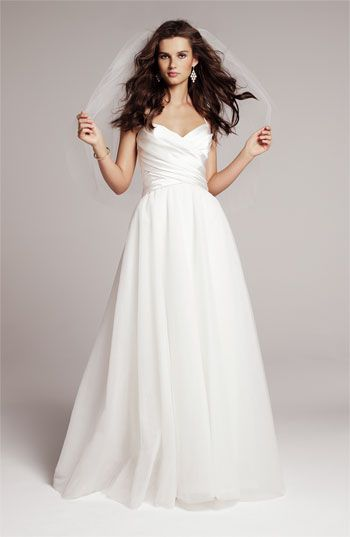 Nouvelle Amsale Gown, available exclusively in Nordstrom Wedding ...