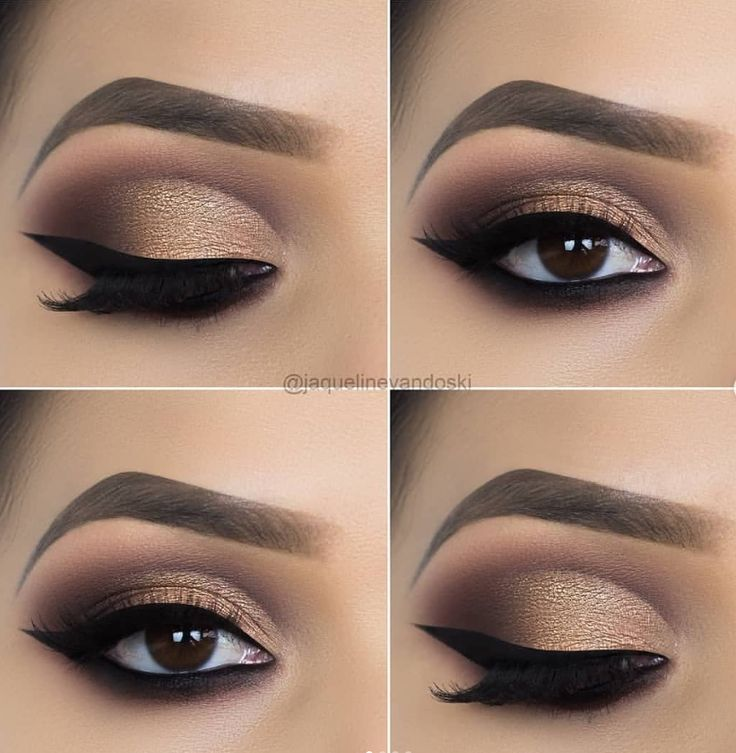Photo of #Eye #eye makeup tips #für #Golden #MakeupIdeen #Smokey