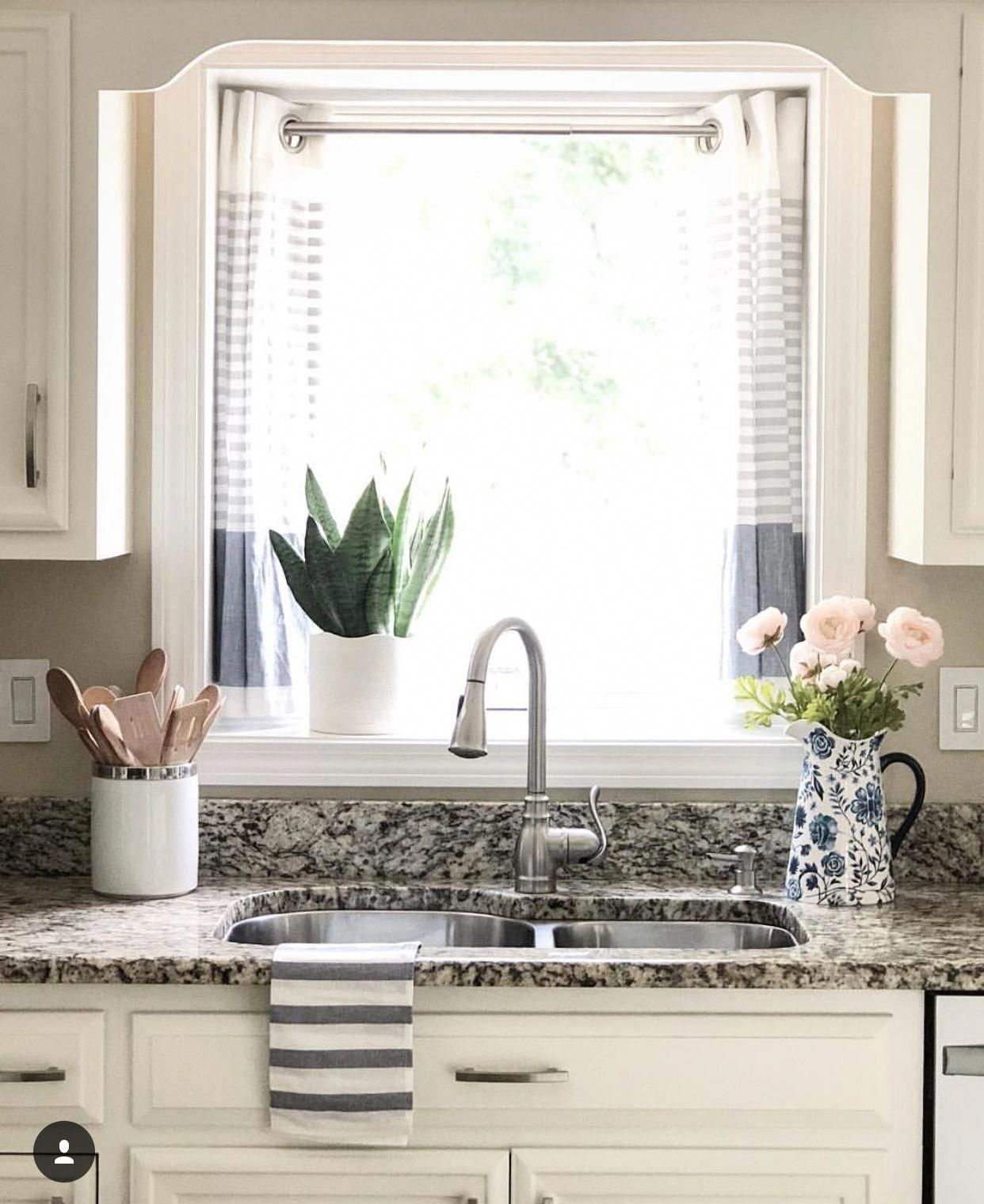 Window Treatments Interiordesign: Kitchen Updated With Awning Window And Added A Small Bump
