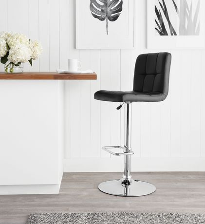 Phenomenal Hometrends Quilted Swivel Bar Stool Black In 2019 Products Caraccident5 Cool Chair Designs And Ideas Caraccident5Info