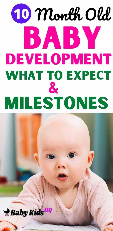 10 Month Old Baby Development & Milestones - BabyKidsHQ in ...