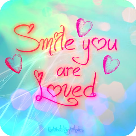 Smile, you are loved. | Love you, Sweet quotes, Stages of love