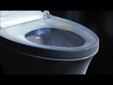 Kohler Veil Intelligent Skirted One Piece Elongated Bidet Toilet With Its Flowing And Immaculately Balanced Curves The Ve One Piece Toilets Bidet Toilet Bidet
