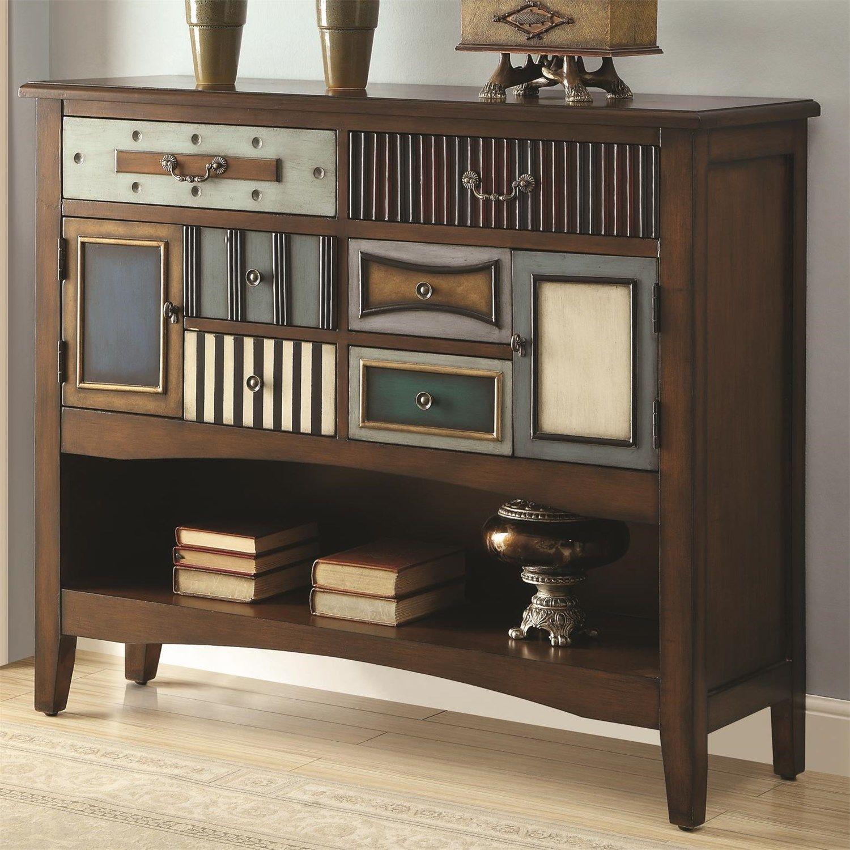 Coaster Furniture 950329 Accent Cabinet In Brown Coasterfurniture  # Muebles Coaster