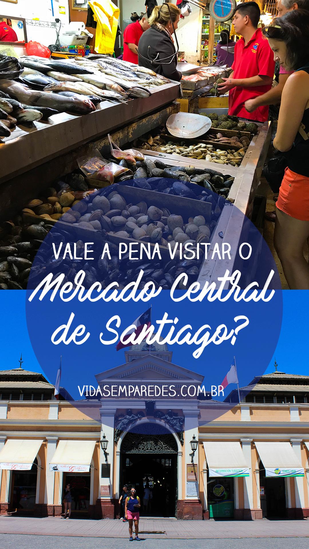 Saiba mais sobre o Mercado Central de Santiago, uma das atrações mais  tradicionais da capital 6101d218fd