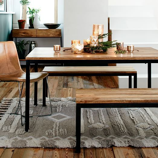 Box Frame Dining Table  Wood  Dining Bench Woods And Room Cool Picture Frames For Dining Room Inspiration
