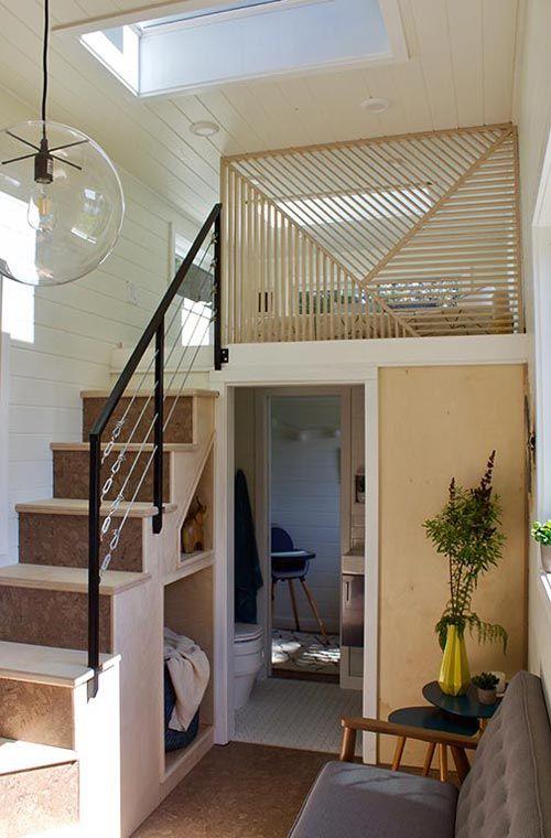 Tiny Home And Garden By Tiny Heirloom Tiny House Loft Modern