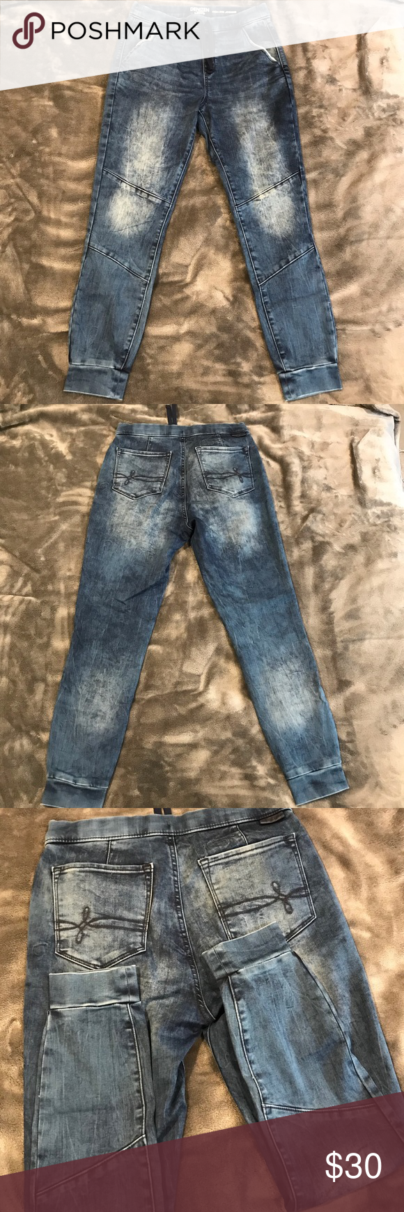 "834f128a Denizen from Levi's Joggers High Rise Joggers Waist 14"" Front Rise 11"" Hip  17"