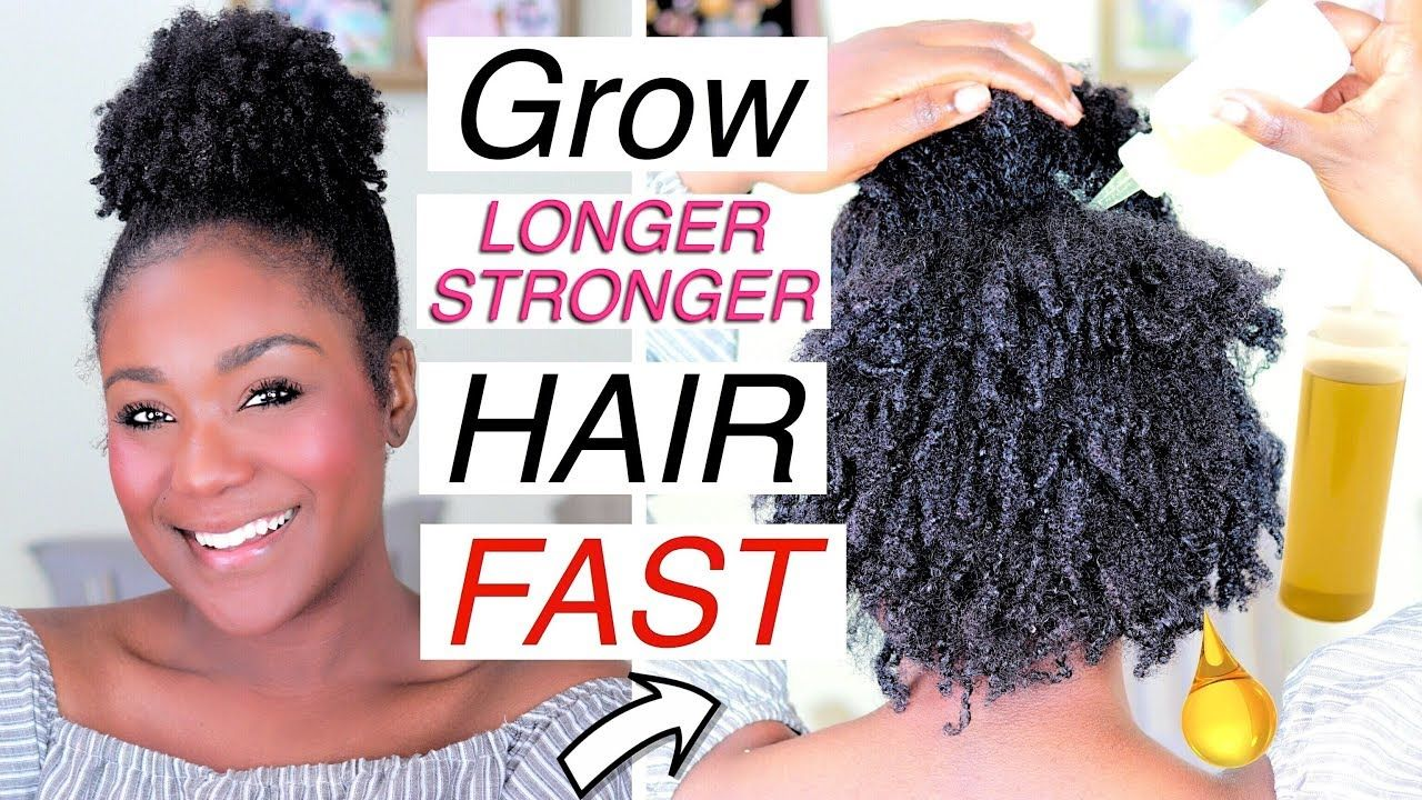 diy hair growth oil for 4c hair recipe