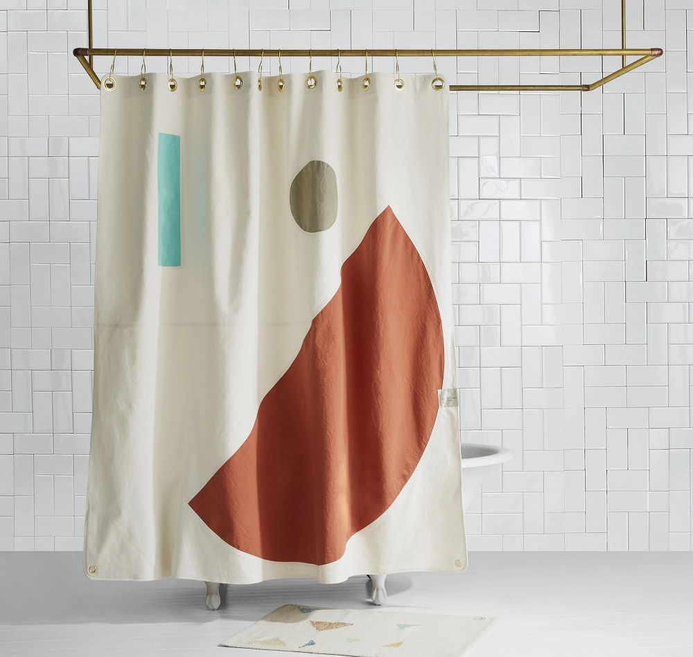 Beacon Desert Shower Curtain In 2020 Curtains Milk Shop Shower
