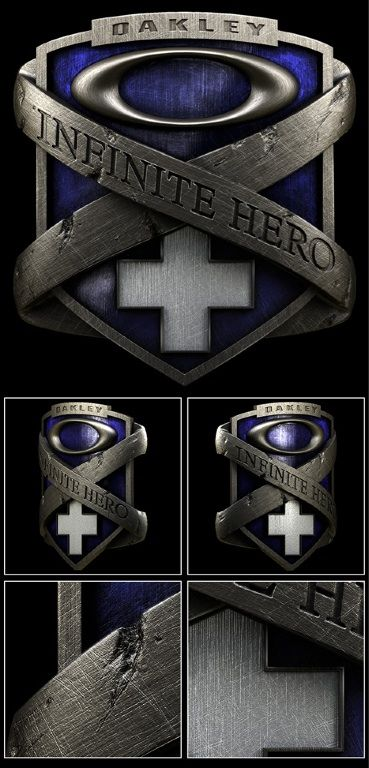 36a0283e339e9 Oakley Infinite Hero - logo detail