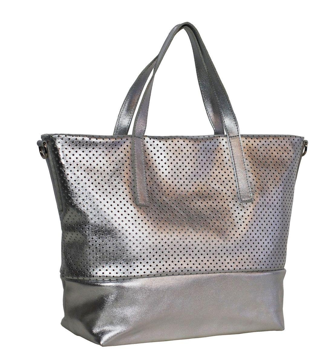 Jost Shopping Bag - silver 124DAmxOiJ