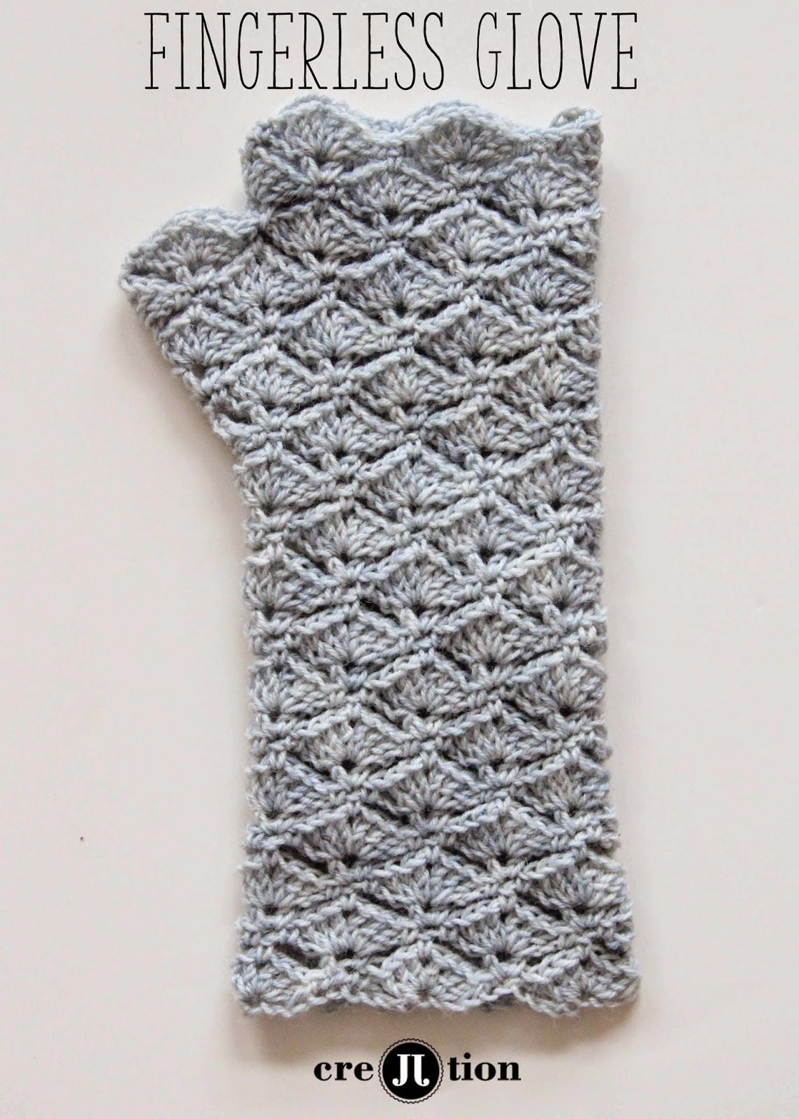 Free Pattern Crochet Fingerless Gloves | Crochet Patterns, tips ...