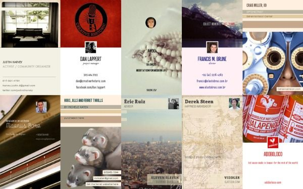 Cardflick puts your instagram and facebook pictures on virtual cardflick puts your instagram and facebook pictures on virtual business cards colourmoves
