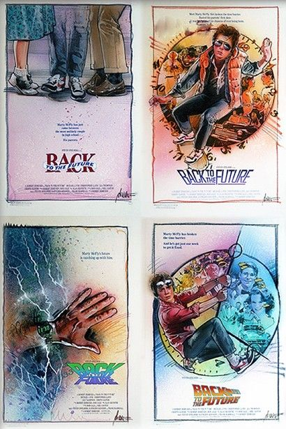 back to the future poster concepts
