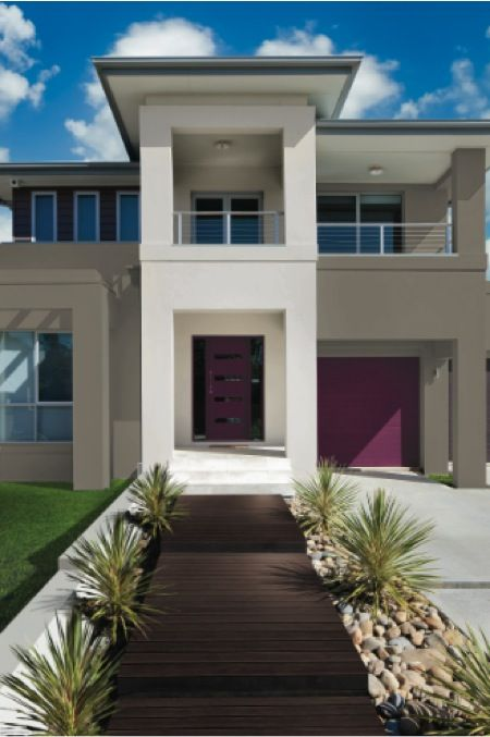 Shaynna Blaze S Tips For Kerb Appeal Exterior Colour Schemes The Interiors Addict House Exterior Color Schemes Exterior Color Schemes Exterior House Paint Color Schemes