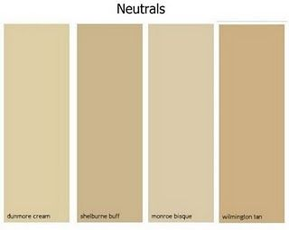 Looking for the right beige dunmore cream shelburne buff for Creamy neutral paint colors