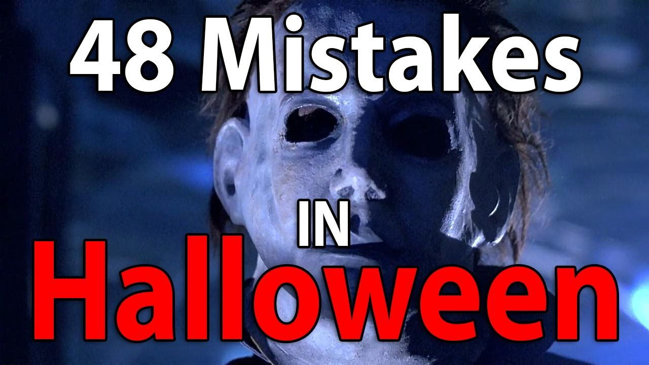 48 Mistakes in HALLOWEEN (1978) EWW... Lets Fail Films