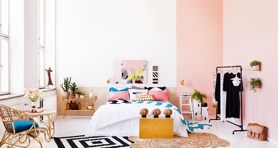 Mooie kleur voor mijn eigen slaapkamer!