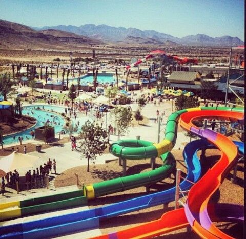 our new wet wild water park located in the southwest in las vegas rh pinterest com