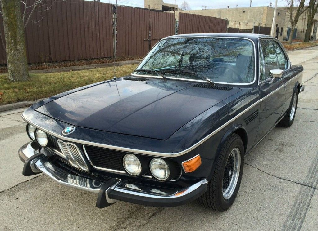 34 Years Owned 1973 Bmw 3 0cs 4 Speed Driving Project Bmw Bmw