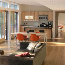 Small Open Plan Kitchen Living Room Design Ideas Pictures Remod