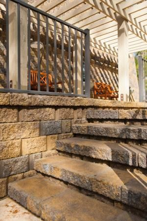 Best Terrace Patio Stairs Design Ideas Boxley Hardscapes 640 x 480