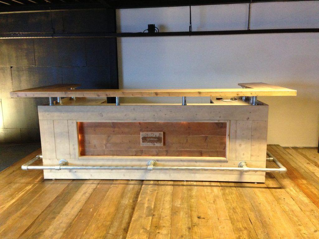 Beste Een eigen steigerhouten bar maken | Achtertuin bar, Bar interieur OG-74