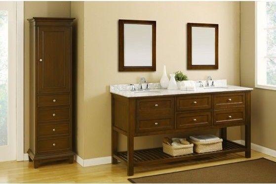 Bathroom Top Elegant Vanity Two Sinks Household Throughout Vanities Designs Bathtub Remodel