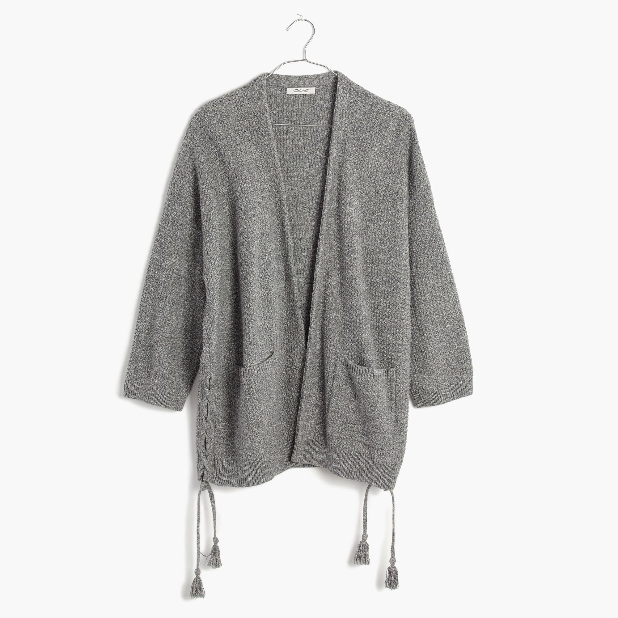 Side-Lace Cardigan Sweater - Madewell   Stuffy stuff   Pinterest ...