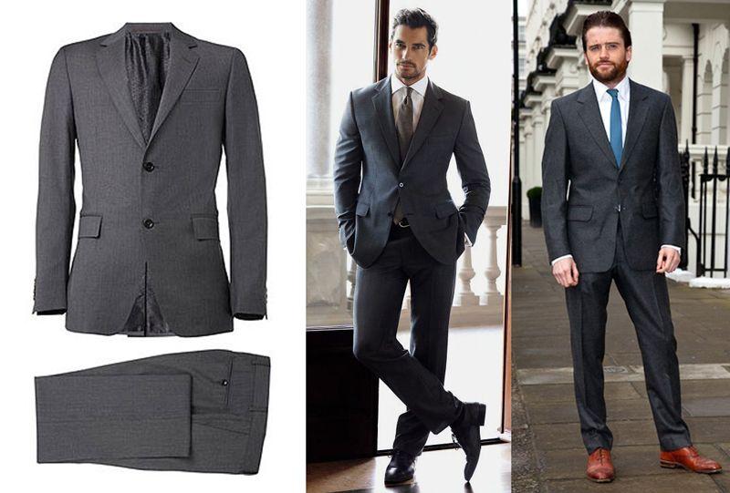 Dark grey suit | Suit up! | Pinterest | Dark grey suits