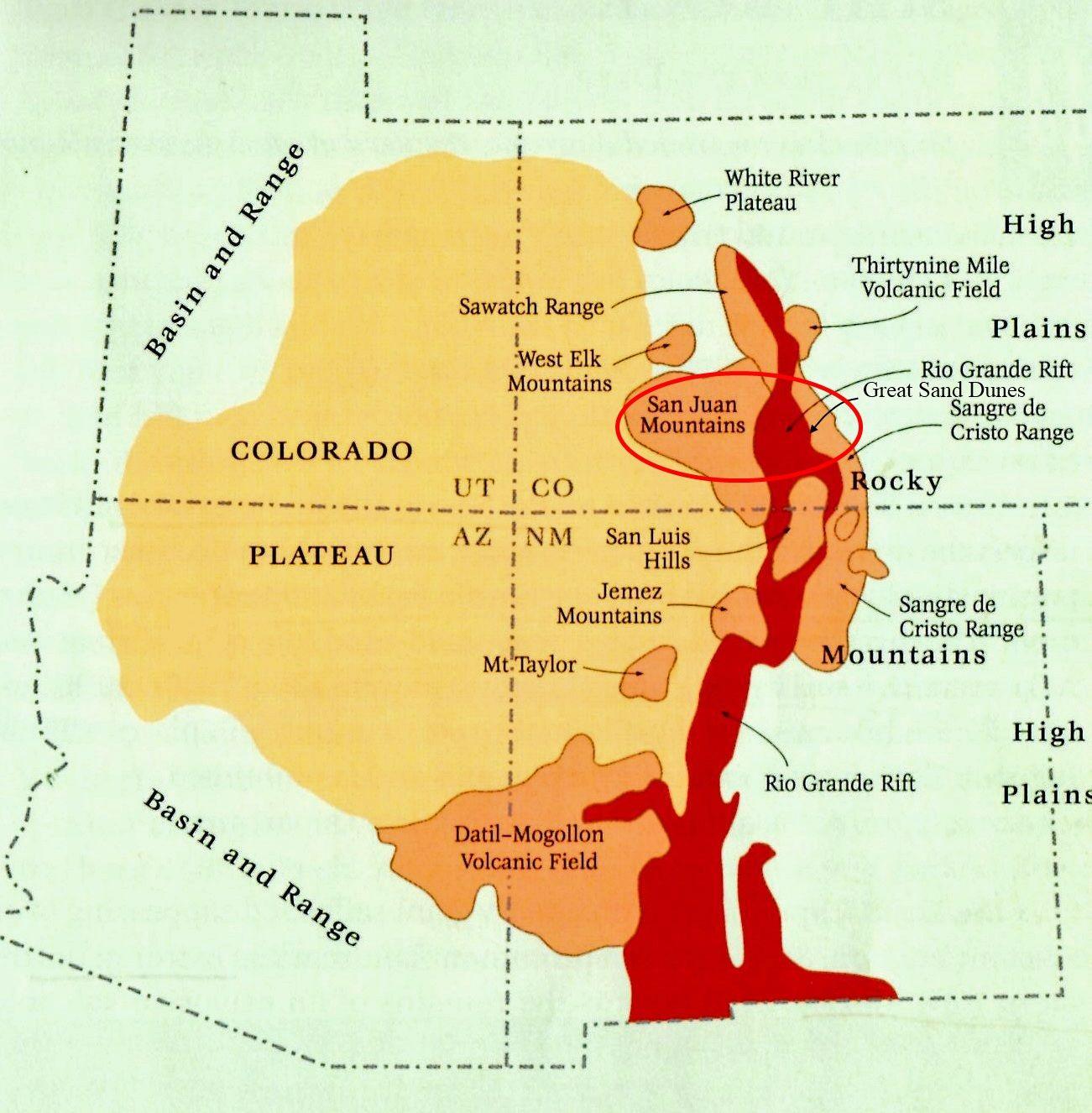 Rio Grande Rift Geology Pinterest Rio Grande And Geology - World map rio grande river
