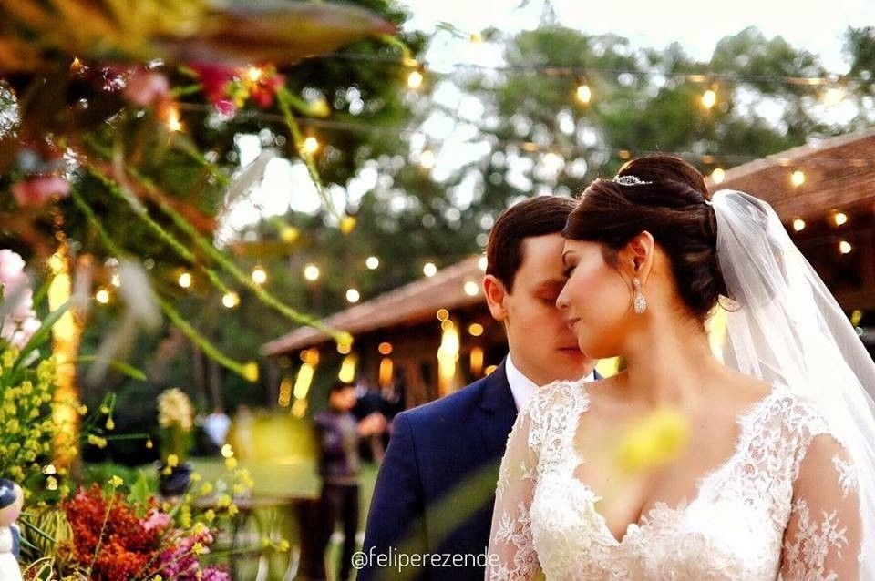 Casamento no campo tem um charme único vocês não acham?!