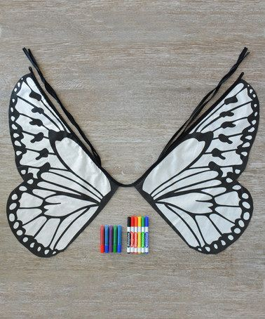 This Design Your Own Butterfly Wings Kit is perfect! #zulilyfinds