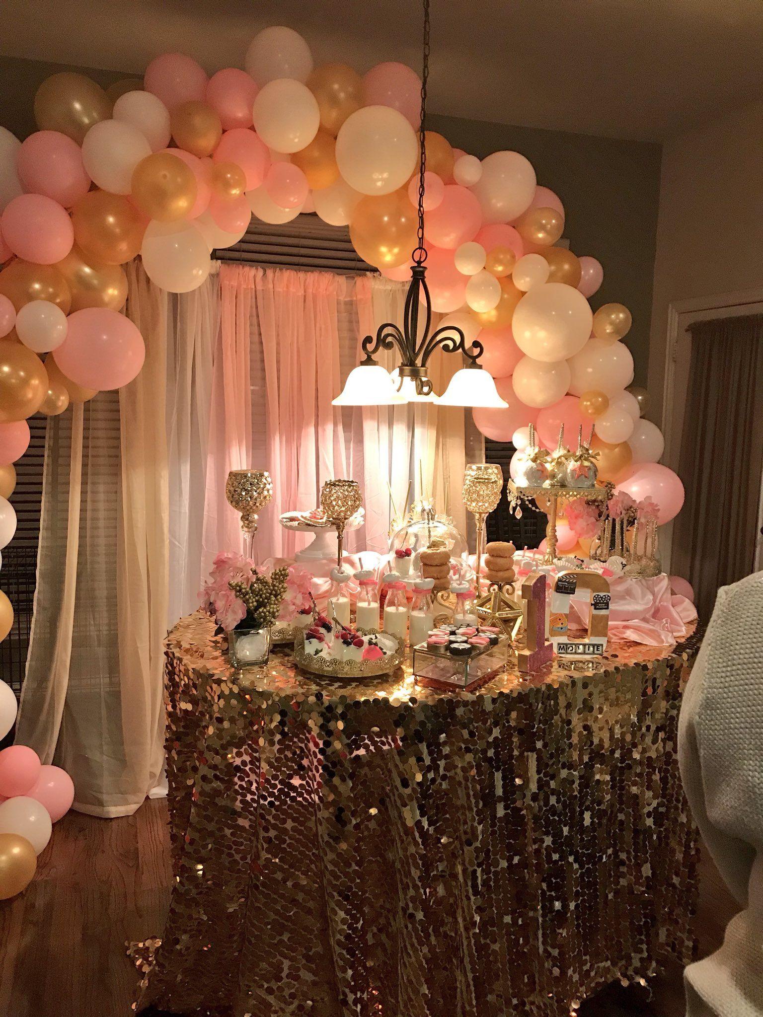 Girl Birthday Party 23rd Birthday Decorations Golden Birthday Parties Hotel Birthday Parties