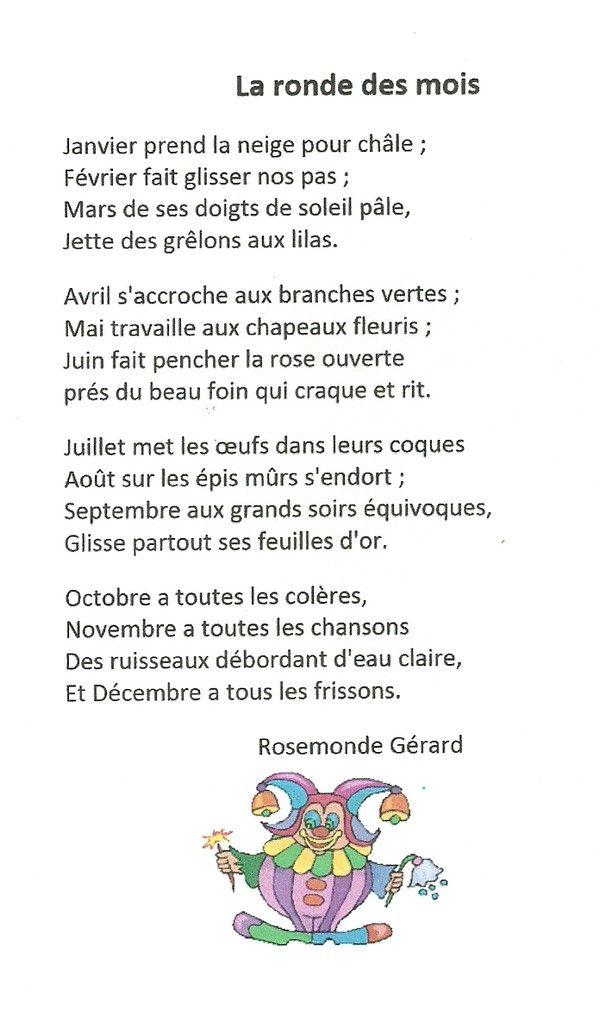 Poésie La Ronde Des Mois : poésie, ronde, Résultat, Recherche, D'images,