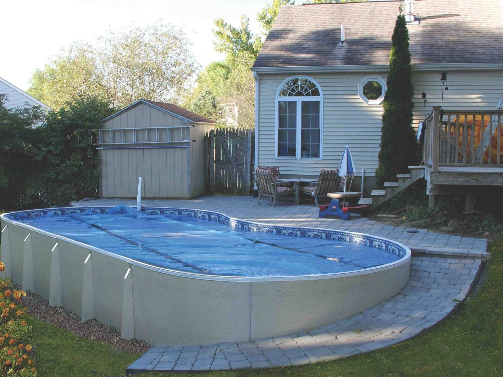above ground pool with deck and hot tub. 10 Amazing Above Ground Pool Ideas And Design With Deck Hot Tub B
