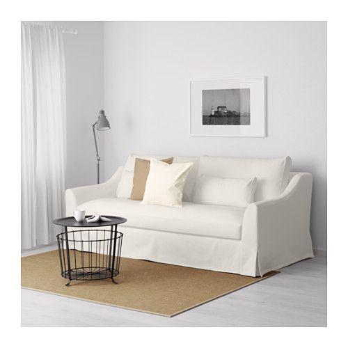 Färlöv Canapé 3 Places, Flodafors Blanc | Ikea, Canapés Et Place