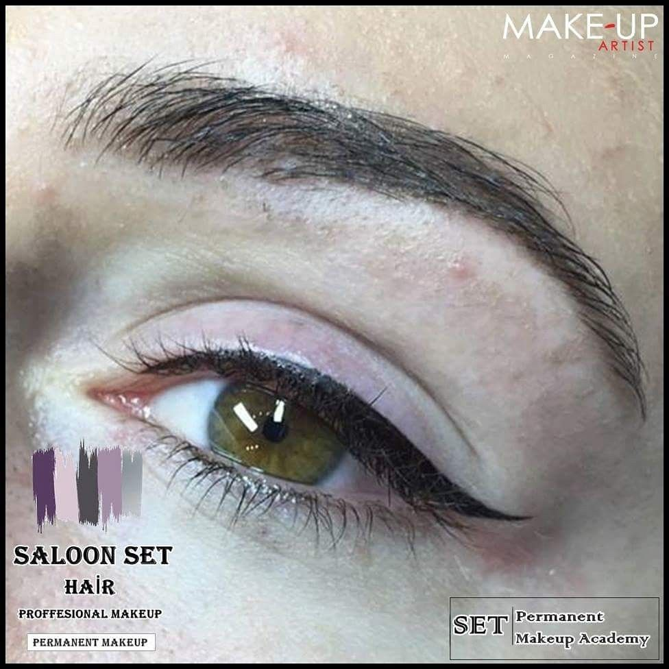 SemiPermanent Makeup Eyeliner Exercise with Extra