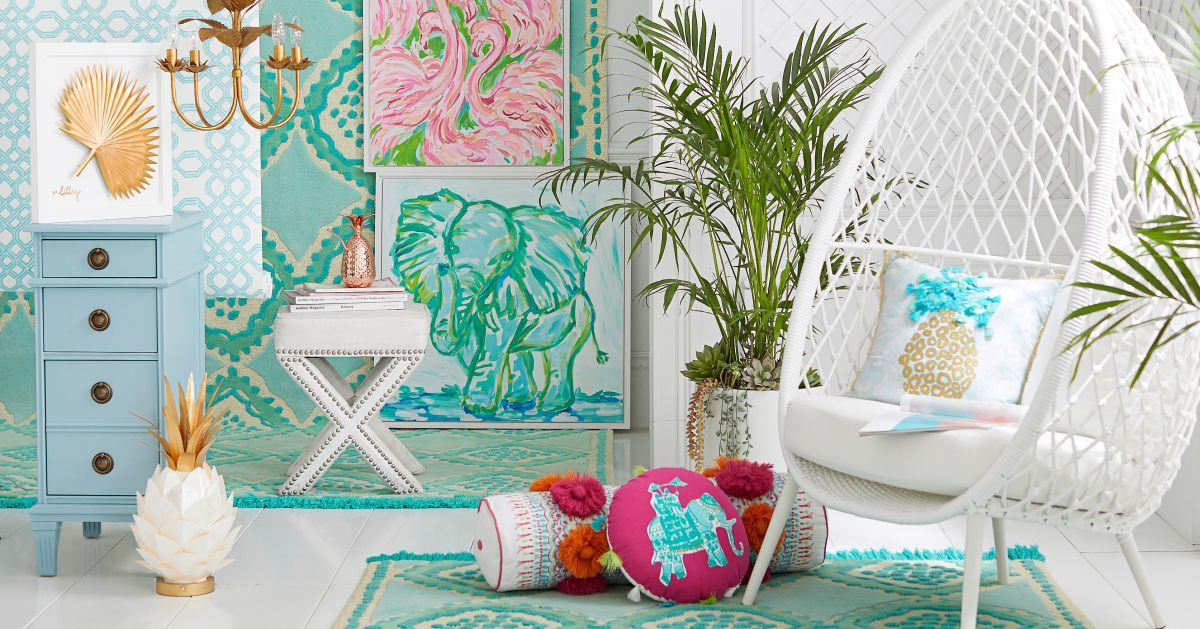 Pottery Barn Just Released An Exclusive Line With Lilly